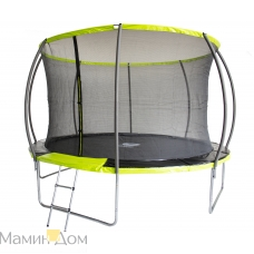 Батут Fitness Trampoline GREEN 10 FT Extreme Inside 3 опоры